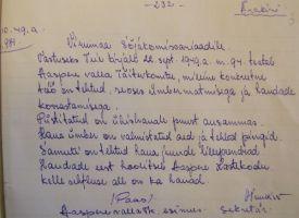 LVMA.394.1.75 Aaspere valla TK esimehe kiri.