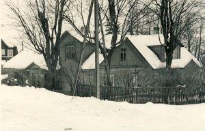 Osvald Toominga kodu Haljalas, tema naise vanemate maja Haljala-Võsu teeristil. RM F 512:7, SA Virumaa Muuseumid, <a href=