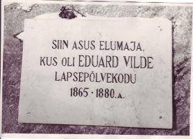 Foto: Eduard Vilde muuseumi kogust.