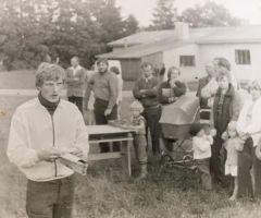 1980.a Juurus rallilt korraldamas. Erakogu