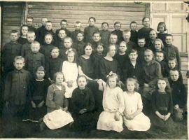 Miila kooli õpilased, 24.5.1925, RM F 804, Virumaa Muuseumid SA, http://muis.ee/museaalview/1660830.
