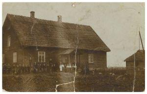 Miila kool arvatavasti aastatel 190-1903. Erakogu.