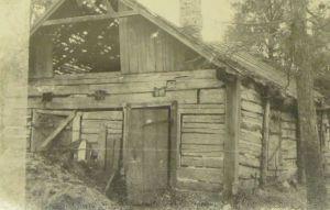 Faehlmanni sünnimaja, 1953. Foto: Muinsuskaitseamet.
