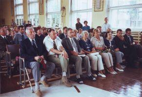 Konverents Rakke Gümnaasiumis. 6.9.2007. Foto: ???