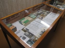 Rakke muuseumis on Baer väärikalt esindatud. Foto: Heiki Koov, juuli 2010.