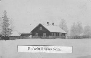 Foto Rakke muuseumist.