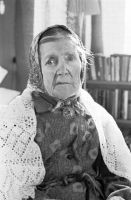 Kirjanik, kriitik ja tõlkija Marta Rannat (Marta Sillaots). Foto: Viktor Salmre, 1968-1969. ERM Fk 2644:5959, Eesti Rahva Muuseum, http://muis.ee/museaalview/1512094.