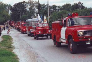 Jõgeva päästeteenistuse ja Järva-Jaani tuletõrjemuuseumi tehnika.
