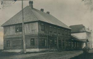 Rakke seltsimaja 1923, foto: Tõnu Kiipus, ERM Fk 450:4, Eesti Rahva Muuseum, http://muis.ee/museaalview/653634.