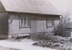 Professori kodukoht. Foto: Helmut Joonuks, 1971. Muinsuskaitsemaeti arhiiv.