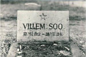 Rakvere kalmistu, mälestustahvel Villem Soole, 1980. aastad. RM F 1329:24, SA Virumaa Muuseumid, http://www.muis.ee/museaalview/1421229.