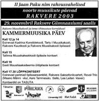 Virumaa Teataja, 28.11.2003