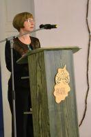 Kõneleb SA Virumaa Muuseumid teadur Reeli Tamm, foto: Evelin Rikma, 17.10.2014.