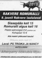 Virumaa Teaja, 31.05.2013.
