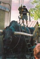 Tarva transport. Tauno Kangro skulptuuristuudio