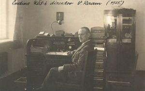 Rakvere Õpetajate Seminari direktor Voldemar Raam, RM F 192:7, SA Virumaa Muuseumid, http://www.muis.ee/museaalview/1966662.