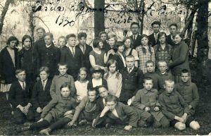 Lasila algkooli õpilased, RM F 714:55, SA Virumaa Muuseumid, http://www.muis.ee/museaalview/1728167.