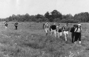 Foto: matkagrupp teel, 1967. Vinni NST arhiiv.