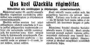 Virumaa Teataja, 6.02.1930