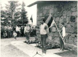 Mälestustahvli avamine Porkuni vallas langenutele, kõneleb ..., RM F 1429:9, SA Virumaa Muuseumid, http://www.muis.ee/portaal/museaalview/1330754.
