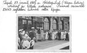 Foto: 23.6.1937. Tapa muuseum.