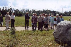 2007.a kokkutulekul osalejad. Erakogu.