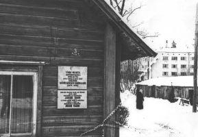 Foto: Väike-Maarja muuseum, tahvel avamise päeval 10.1.1978,