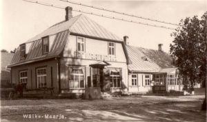 Georg Lurichi sünnimaja Väike-Maarjas. Foto: J. Kadakas, 1920-ndad aastad. ESM F 20:203/A 469, Eesti Spordimuuseum, http://www.muis.ee/museaalview/80529.