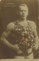 Raskejõustiklane Georg Lurich, Sankt-Peterburg, ca 1910. ESM F 20:302/A 6150, Eesti Spordimuuseum, http://www.muis.ee/museaalview/80371.