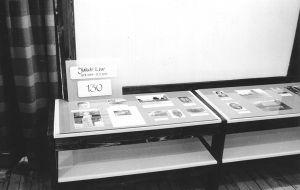 Jakob Liivi 130. sünnipäevale pühendatud näitus muuseumis. Foto: A. Joala, 17.11.1989. Väike-Maarja muuseumi kogu.
