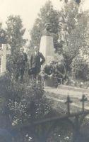 Jakob Tamme matused 15.07.1907. Väike-Maarja muuseumi kogu.