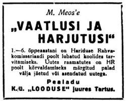 Virumaa Teataja, 20.09.1940