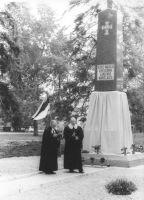Foto: Ülo Tähiste. Ain Eenmaa (vasakul) ja Kuna Pajula. Väike-Maarja muuseumi kogu.