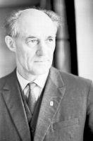 Kirjanik Rudolf Sirge. Foto: Viktor Salmre, 1969. ERM Fk 2644:6060, Eesti Rahva Muuseum, http://www.muis.ee/museaalview/1512210.