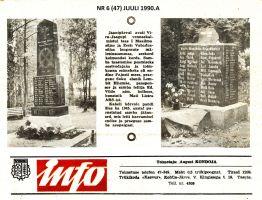 Vinni Info, juuli 1990