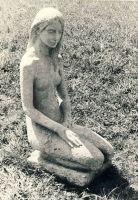 Skulptuur Mõdriku pargis, 1972. RM F 1014:59, SA Virumaa Muuseumid, http://www.muis.ee/museaalview/1617153.