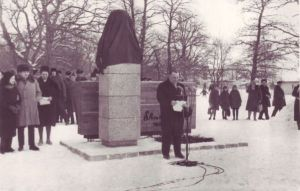 E. Vilde monumendi avamine, TALK EVMF 530:2 EVMF 530, Tallinna Kirjanduskeskus, http://www.muis.ee/museaalview/2256868.