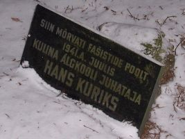 Foto: Heiki Koov, november 2007.