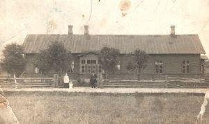 Roela kool 1915. Ferdinand von Wrangelli nimelise Roela Lasteaed-Põhikooli arhiiv.