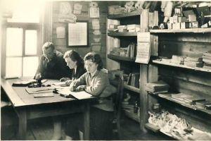 Tudu kooli õpetajate tuba, 1930. aastad. RM F 1277:7, SA Virumaa Muuseumid, http://www.muis.ee/museaalview/1428825.