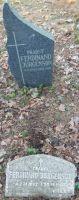 Foto: Heiki Koov, aprill 2018. Ferdinand Jürgensoni haud Rannamõisa kalmistul.