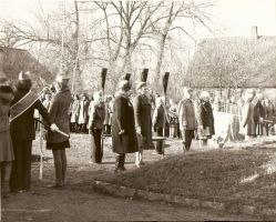 Leinamiiting vennashaua juures Viru-Jaagupis. Foto: Helmut Joonuks, 26.10.1978. RM F 1175:25, SA Virumaa Muuseumid, http://www.muis.ee/museaalview/2308101.